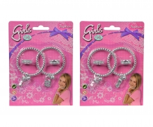 simba Steffi LOVE Girls  Ring- und Armreif Set, 2- sort.