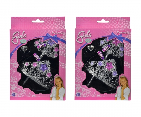 simba Steffi LOVE Girls Prinzessinnenset, 2-sort.