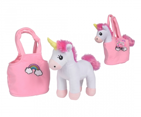 simba Steffi LOVE Girls Einhorn in Tasche