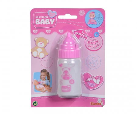 simba New Born Baby Magic Bilk Bottle, with sound