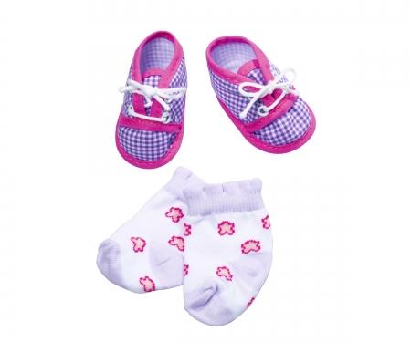 simba New Born Baby Schuhe und Socken, 4-sort.