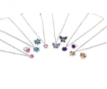 simba Steffi LOVE Girls Ring + Necklace, 3-ass.