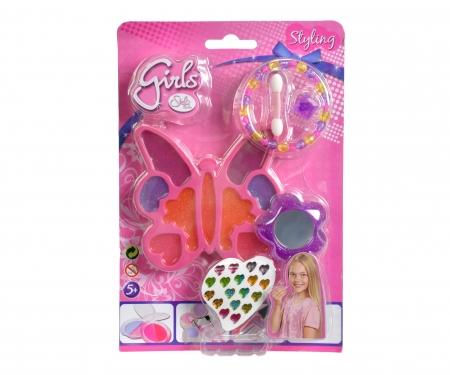 simba Steffi LOVE Girls Glitter-Lipgloss Set, 3-sort.