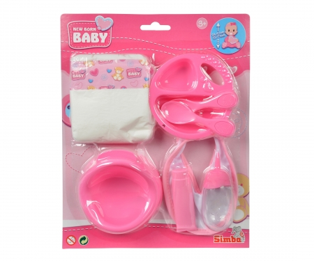 simba New Born Baby Feeding and Potty Set, 2-ass.