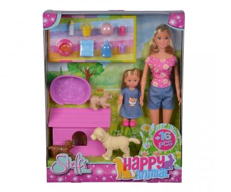 simba Steffi LOVE Happy Animal, 2-ass.