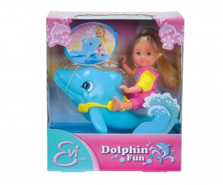 simba Evi LOVE Dolphin Swimming