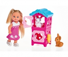 simba Evi LOVE Cute Rabbit House