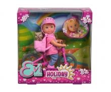 simba Evi Holiday in bici con cagnolino