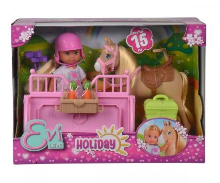 simba Evi Holiday con cavallo e scuderia