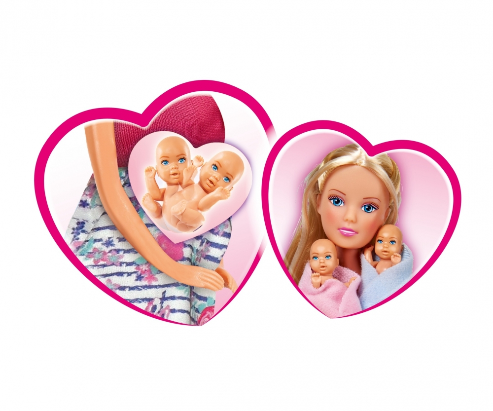 Simba Toys Steffi Love Welcome Twins