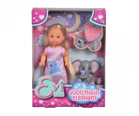 simba Evi LOVE Good Night Elephant