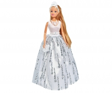 simba Steffi Love Crystal DeLuxe  con accessori creati con cristalli Swarovski