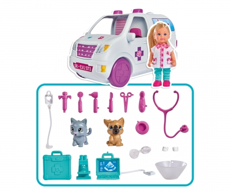 simba Evi LOVE Doctor Evi 2-in-1 Vet Mobile