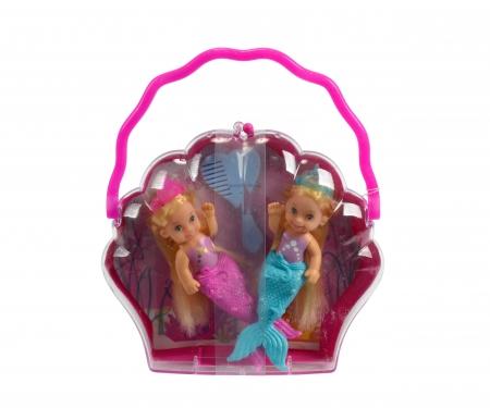 simba Evi LOVE Little Mermaid Sisters, 3-sort.