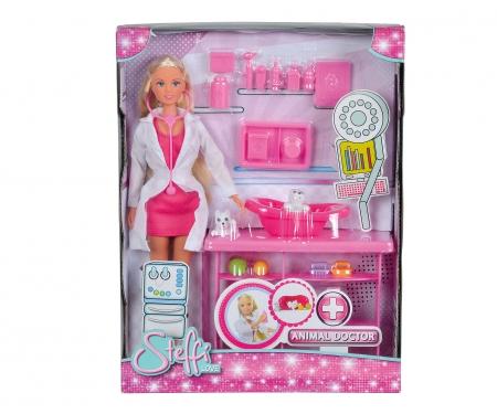 simba Steffi Love veterinaria 24 pz accessori