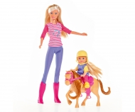 simba Steffi Profesora de Equitación con Evi