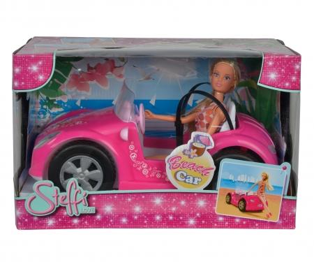 simba Steffi con coche de playa