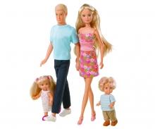 simba Steffi Love Famiglia (Steffi, Kevin, Evi, Timmy)