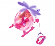 simba Evi LOVE Helicopter