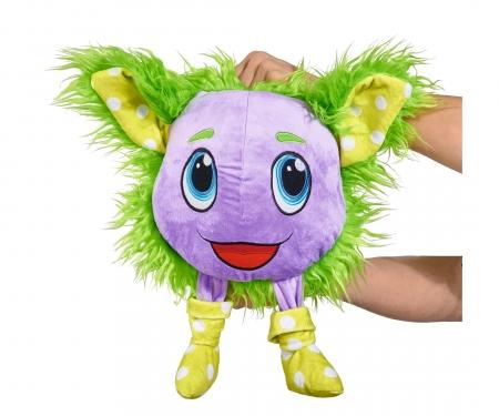 simba Furlocks big Plush Monster, green
