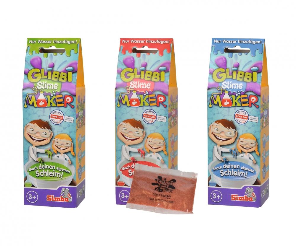 Beliebt Glibbi Slime Maker, 3-sort. - Glibbi - Marken - www.simbatoys.de QD08