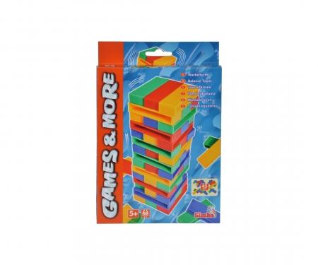 simba Games & More Travel Game Tumbling Tower