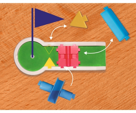 simba G&M Pitpat Minigolf Tableversion