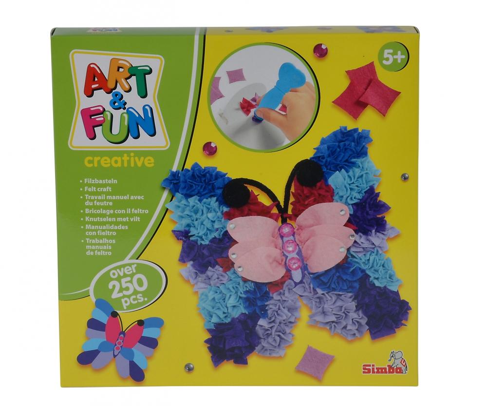 Artfun feltcraft butterfly