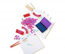 simba Art&Fun Letter Stampset