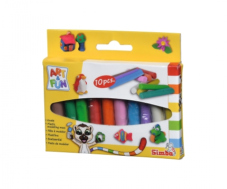 simba Art & Fun Clay Sticks 10 pcs.