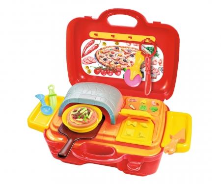 simba A&F Knetset Pizzaofen im Koffer