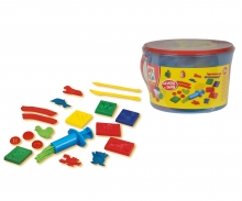 simba Art&Fun Secchiello Pasta da modellare 16 pz