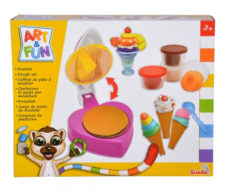 simba Art & Fun Knetset Eiswaffeln