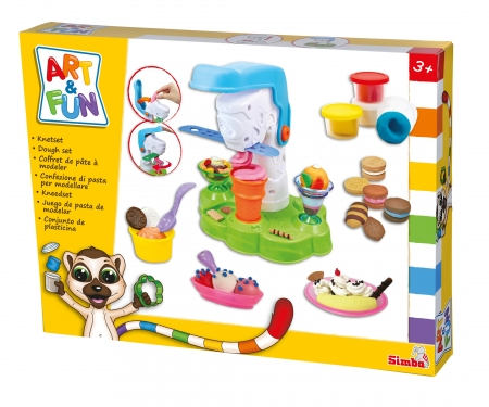 simba Art&Fun Knetset Eisdiele