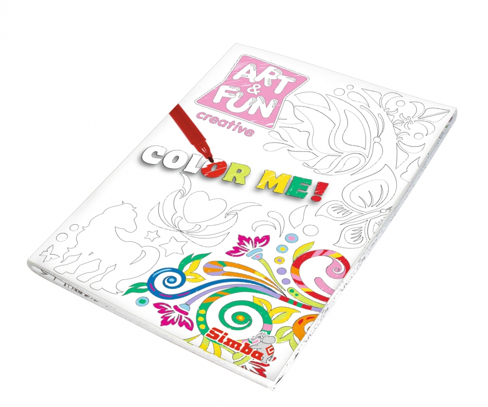 Art&Fun Color me Colouring Girls - Painting - Art & Fun - Brands ...