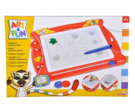 simba Art&Fun Lavagna magnetica cm.40x29 inclusi 4 stampini