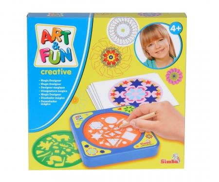 simba Art&Fun Magic Designer for Travelling, 2-ass.