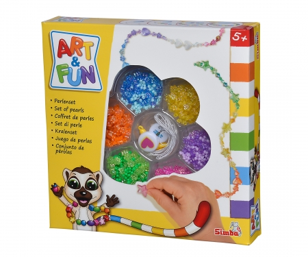 simba Art & Fun Perlenset, 3-sort.