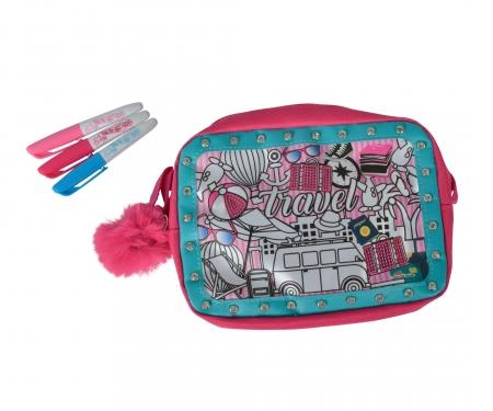 simba CMM Glitter Couture Travel Bag