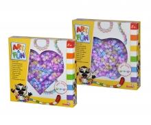 simba Art & Fun Snap Beads in Marble-Color, 2-sort.