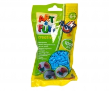 simba Art & Fun 1.000 Ironing Beads in Bag blue