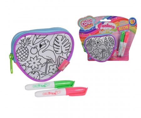 simba Color Me Mine Fantasy Heart Purse
