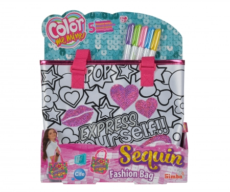simba Color Me Mine Sequin Fashion Bag