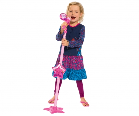 simba My Music World Girls Microphone Stand