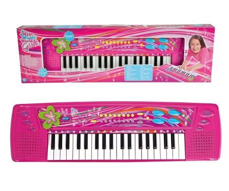 simba My Music World Girls Keyboard