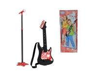 simba My Music World Guitar with Microphone Stand