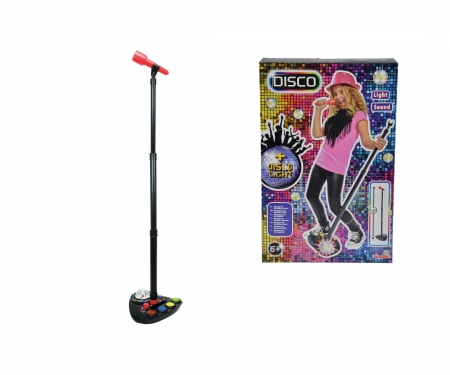 simba My Music World Disco Microphone Stand