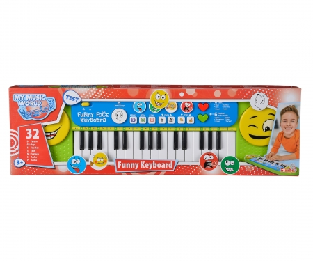 simba My Music World Funny Keyboard