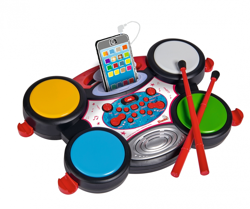 Plug & Play Drum - My Music World - Brands - www simbatoys de