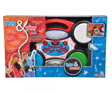 simba Plug & Play Drum